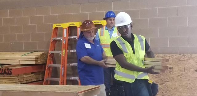 Randy Griebel at Construction Trade Program for Homeless Youths